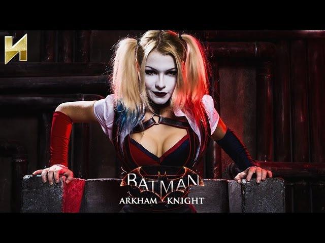 Batman: Arkham Knight с живой Харли Куинн! || Лучшие моменты