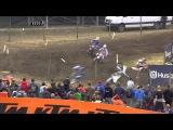 Aleksandr Tonkov crash MXGP of Germany 2015 - motocross