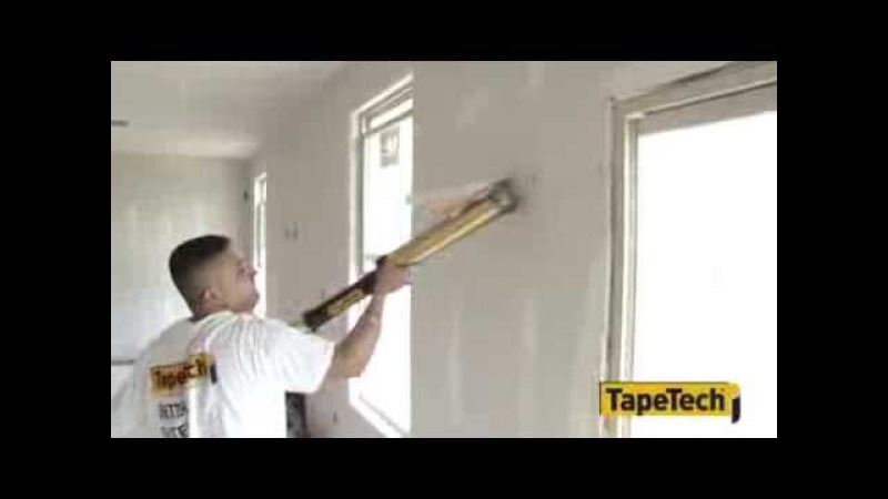 TapeTech Automatic Taping and Finishing ATF Tools in Action!