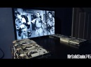 Ghostbusters Theme on eight floppy drives