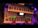 Abba , gime gime gime COVER played on Tyros 3 with organ sounds