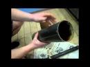 переборка прямоточного глушителя (bulkhead straight-through muffler)