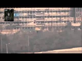 СИРИЯ  Еще одно видео подрыва грузовика со смертником у госпиталя Аль Кинди