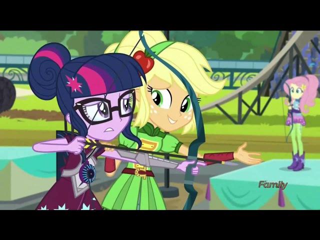 MLP Equestria Girls - Friendship Games: Tricross Relay (2nd Event) [HD]