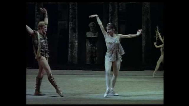 Svetlana Adyrkhayeva and Maris Liepa in Spartacus