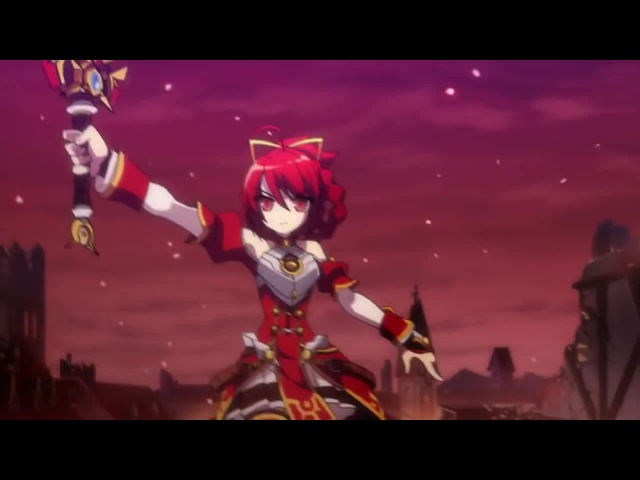 Elesis from Elsword with Grand Chase Music