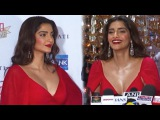 Sonam Kapoor FLAUNTS her Cleavage   HELLO Hall Of Fame Awards 2016
