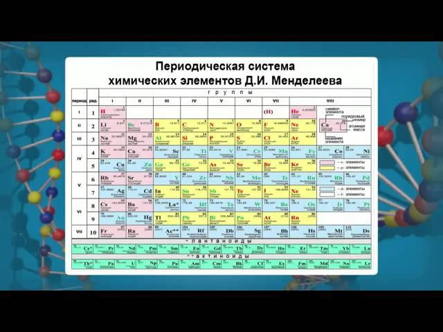 Роль химических элементов в организме человека