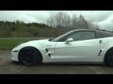 Corvette ZR1 vs HGP VW Golf VI R 3.6 Bi-Turbo