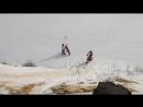 Дзержинский карьер 20.02.2016(подъем в гору)
