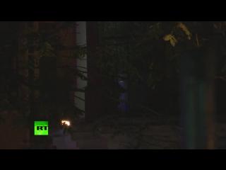 14.11.2015-Полицейские эвакуируют выживших из театра«Батаклан».(Дата-14.11.2015г.,0329мск,0129цев.YouTube-RT на русском)