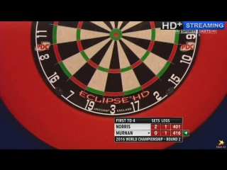 Alan Norris vs Joe Murnan (PDC World Darts Championship 2016 / Round 2)