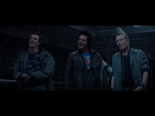 Терминатор: Генезис - сцена с панками (перевод и озвучка Леонида Володарского)