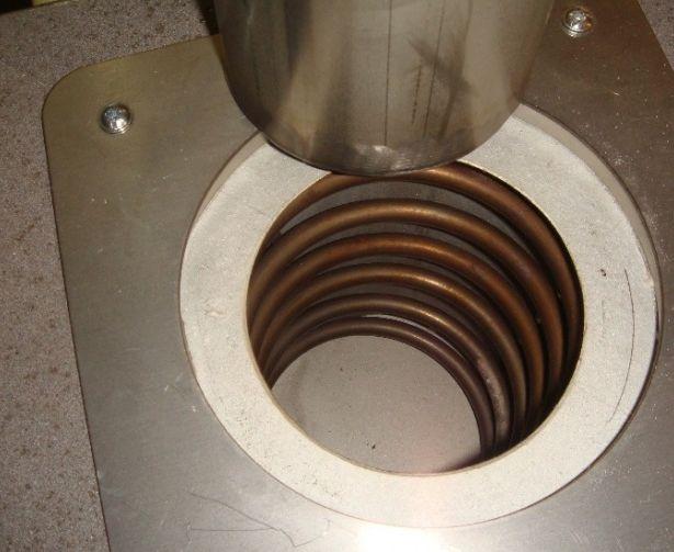 Муфельная печь для алюминия своими руками