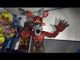 Фнаф 4 плюштрап vs кошмарных аниматроников (SFM) - 720P HD