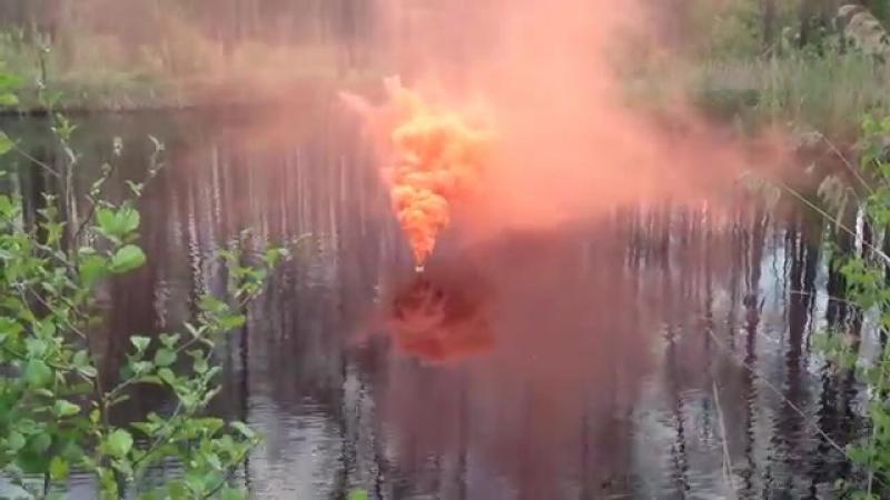 ПДШ-3 - шашка дымовая плавучая - Buoyant Smoke Signal