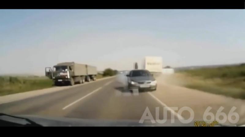 Несостоявшиеся ДТП Видео об экстремальном Вождении и Чистом везении