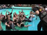 Herman Li (DragonForce) Underwater Guitar Solo on Full Metal Cruise!