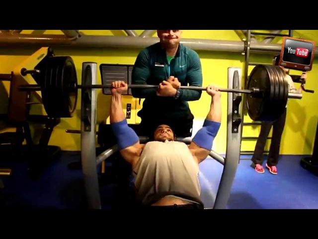Николай Парамонов (Бодибилдинг 100кг) превью тренировки Груди @StepGym2015 - Домашняя качалка