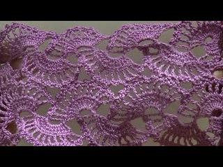 Ленточное кружево по схеме (Lace,tape lace crochet )