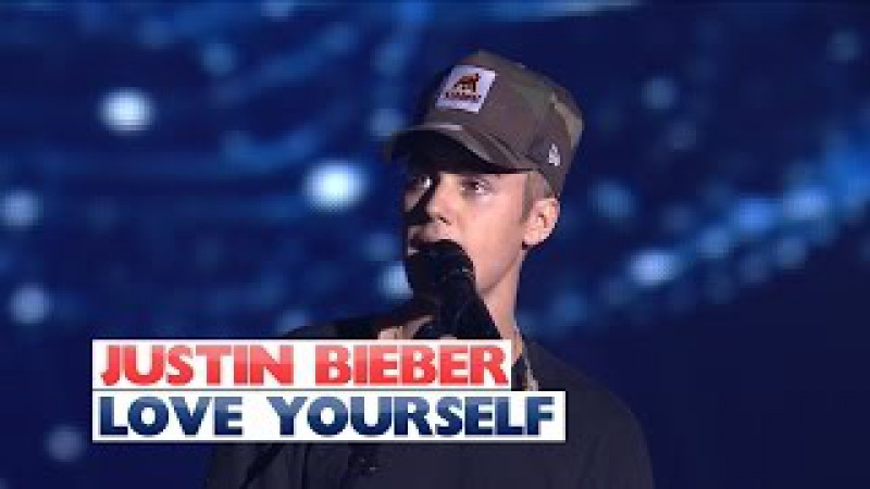 Justin Bieber - Love Yourself (Jingle Bell Ball 2015)
