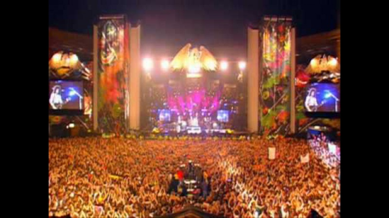 Elton John, Queen Tony Iommi - The Show Must Go On - Freddie Mercury Tribute Concert