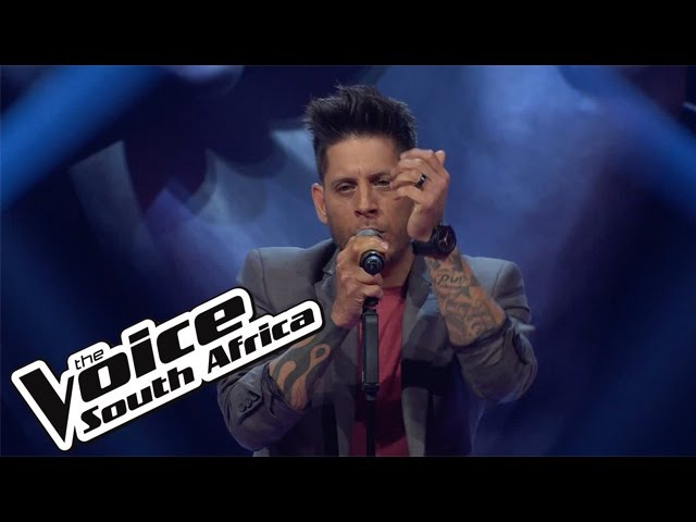 Gavin Edwards sings Say Something | The Blind Auditions | The Voice South Africa 2016