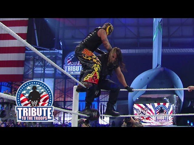 Wrestling Premium The Shield vs Rey Mysterio The Usos Tribute to the Troops 2013