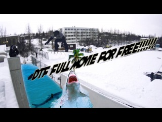 DTF Snowboard Full Movie by Helgasons