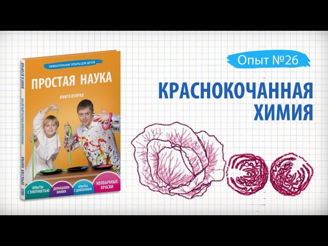 Книга 2 / Опыт 26 - Краснокочанная химия / Необычные краски