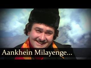 Aankhein Milayenge - Randhir Kapoor - Parveen Babi - Bhanwar - Hindi Songs - R.D. Burman