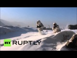 Россия Военные учения в тесте Бурятии из Искандер-М баллистических ракет систем.