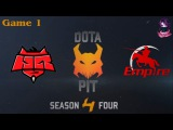 HR vs Team Empire #1 (bo2) (Ru) | Dota Pit S4 (20.01.2016) Dota 2