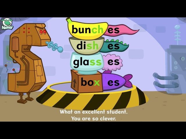 Nessy Spelling Strategy: Plurals -s -es