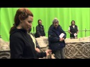 Tauriel Behind The Scenes - Dagger Spinning