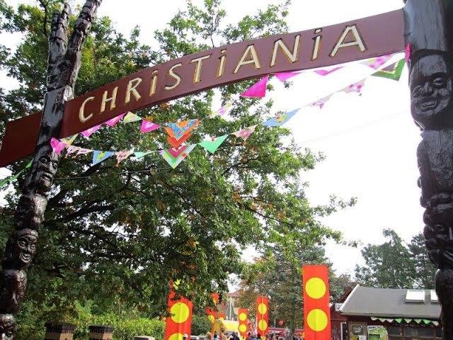 Freistaat Christiania in Kopenhagen
