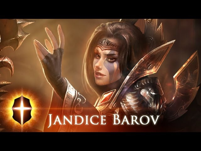 Jandice Barov - Original SpeedPainting by TAMPLIER 2015