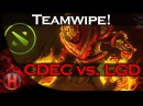 CDEC Teamwipe LGD Dota 2 Major