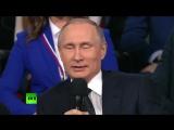 Владимир Путин пошутил о «четвёртой революции» в Петербурге