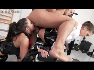 Sindrive.com - athina and henessy - dom bitches get a taste of their own medicine with some ass to mouth!