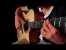 Скайрим - заглавная тема на акустической гитаре