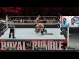 WWE Royal Rumble 2015 - John Cena vs Brock Lesnar vs Seth Rollins Match HD!