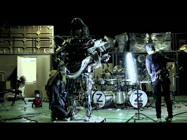 Squarepusher x Z-Machines - Making of 'Music For Robots'