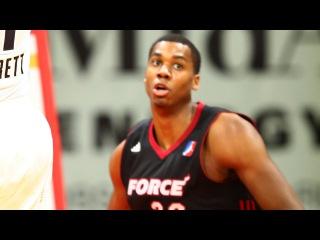 Miami Heat's Hassan Whiteside posts 21 points & 12 rebounds vs. the Energy