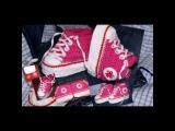 Как связать кеды ребенку .How to tie shoes baby