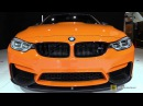 2015 BMW M4 Coupe M-Performance Exhaust,Carbon Lips,Front,Rear Spoiler Exterior,Int Walkaround
