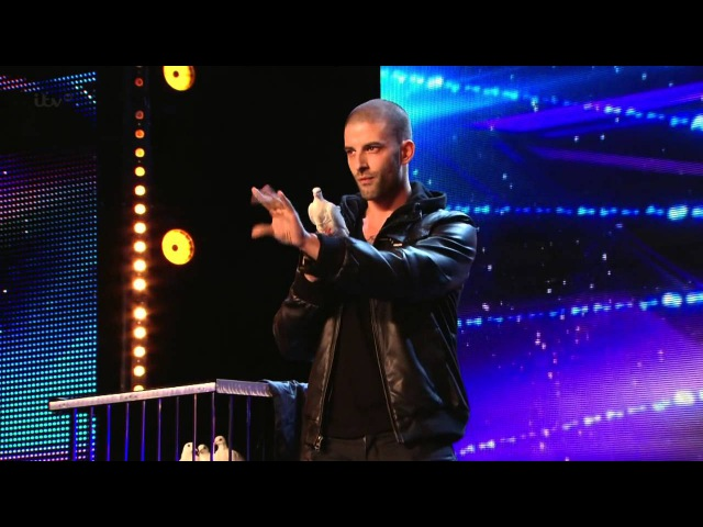 Britain's Got Talent S08E02 Darcy Oake Jaw Dropping Dove Illusion