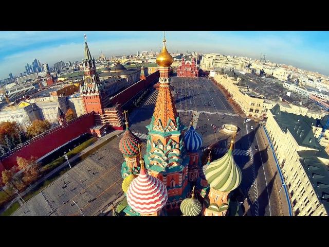 Москва с вертолета Часть 2