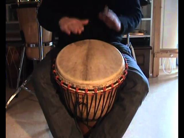 Djembe rhythms and grooves for kids, Kuku, Patatje, Kono, Yankadi, Rumba
