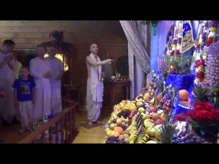 Ашрам Бхактиведанты - Гаура-арати и вдохновенный махакиртан - 31.05.2014 - 9/9
